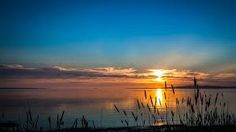 Image result for winter sunset with lake