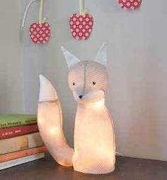 Best Christmas Light Crafts  cute light for baby's room.