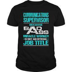 COMMUNICATIONS SUPERVISOR T-Shirts, Hoodies. CHECK PRICE ==► https://www.sunfrog.com/LifeStyle/COMMUNICATIONS-SUPERVISOR-115498799-Black-Guys.html?id=41382