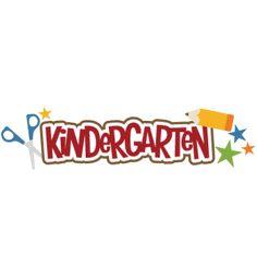 Kindergarten SVG scrapbook title pencil svg file free svgs school svg cut files