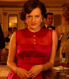 """Elisabeth Moss discusses Peggy Olson's role on """"Mad Men"""" Season what Peggy learned from Don Draper and whether or not she feels secure in her job. Elisabeth Moss, Don Draper, Jon Hamm, Mad Men Actors, Mad Men Peggy, Peggy Olson, Mad Men Fashion, 6 Photos, Family Photos"""