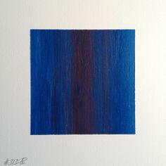 #313 | square abstract painting (original) | acrylic on white board | size 9 cm x 9 cm | boardsize 15 cm x 15 cm | https://www.etsy.com/shop/quadrART