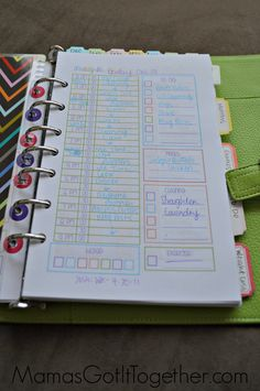 My Personal Planner Organization Tour - Mama's Got It Together