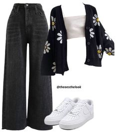 Swaggy Outfits, Komplette Outfits, Kpop Fashion Outfits, Indie Outfits, Retro Outfits, Cute Casual Outfits, Stylish Outfits, Polyvore Outfits, Mode Ootd