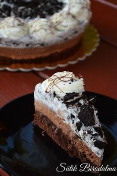 SÜTIK BIRODALMA: Oreos-csokoládés mousse torta Mousse, Nutella, Cheesecake, Muffin, Goodies, Food And Drink, Chocolate, Baking, Breakfast
