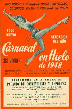 MASKED GIRL BAILE DE LOS DEPORTES DANCE SPORTS BALL SPANISH VINTAGE POSTER REPRO