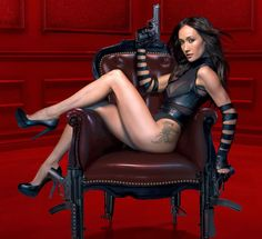 I want to be herrr!!! Obsessed with Nikita's Maggie Q