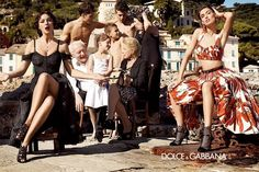Monica Bellucci for Dolce & Gabbana Spring 2012 campaign revealed - Ad Campaigns