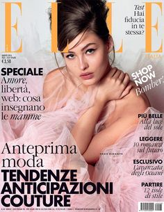 Grace Elizabeth by Matt Jones for Elle Italia August 2016 Cover
