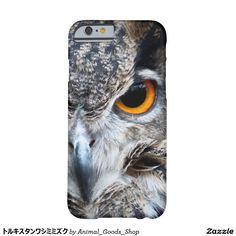 トルキスタンワシミミズク iPhone 6 ベアリーゼアケース