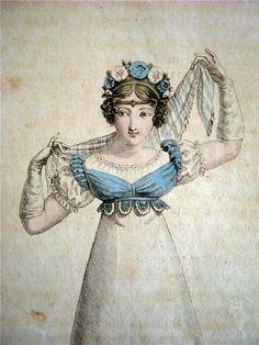 History in my Wardrobe: Sleeveless bodices in the regency period