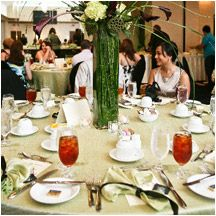 I like the center piece...nmg   Best Wedding & Reception Venues in Ocala FL at Holiday Inn & Suites Ocala Conference Center | Ocala Florida Weeding Hotels and Weddings Planners