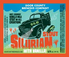 Door County Brewing Co. Announces Silurian Stout with Vanilla