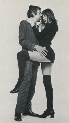 """Serge Gainsbourg and Jane """"Too Sexy For Her Pants"""" Birkin"""