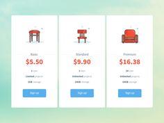 daily UI 030 - Pricing