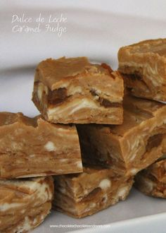 Dulce de Leche Caramel Fudge-rich and creamy with pockets of pure caramel goodness swirled in!