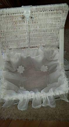 Picknick Korb mit Spitze