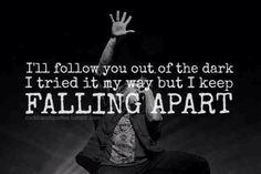 Jacoby Shaddix, Papa Roach - Falling Apart This is probably one of my favorite songs from F.E.A.R.