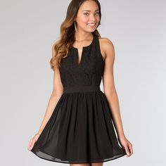 Prom Girl Black Sleeveless Dress New with tags. Open back. Cute dress! Prom Girl  Dresses