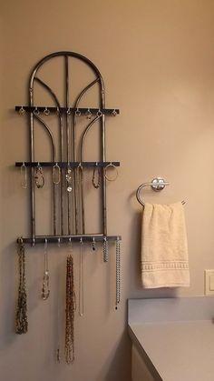 Jewelry Organizer Holder Earring Tree Display Rotating Storage Rack