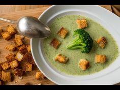 (3) Brokkoli krémleves recept - YouTube Soup Recipes, Diet Recipes, Vegetarian Recipes, Healthy Recipes, Slovak Recipes, Hungarian Recipes, Eat Seasonal, Cream Soup, Tasty Bites