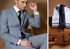 Tailored suits for any occasion Tudor Tailor, Tailored Suits, Gentleman, Suit Jacket, Spring Summer, Blazer, Jackets, Men, Collection