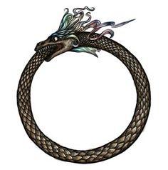 L'Ouroboros ou Uroborus, serpent symbole du cycle éternel