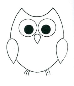 the form below to delete this simple owl . Owl Patterns, Applique Patterns, Applique Designs, Applique Templates, Card Templates, Baby Girl Quilts, Girls Quilts, Owl Outline, Animal Outline