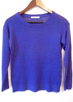 Kup mój przedmiot na #vintedpl http://www.vinted.pl/damska-odziez/bluzy-i-swetry-inne/11114340-sweterek-granatowy-m