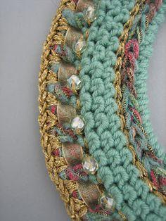 Dollybob: Crochet jewellery