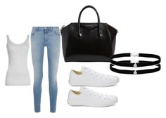 """""""Untitled #2"""" by esmalapandic ❤ liked on Polyvore featuring Givenchy, Converse, Amanda Rose Collection and Vince"""