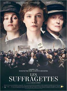 The/Les Suffragettes avec Carey Mulligan, Helena Bonham Carter et Meryl Streep. Retrouvez ma chronique sur mon blog!