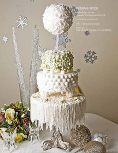 How to Make Hanging Icicles on Your Cake - Cake Central Community