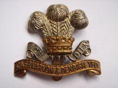 Caernarvon & Denbigh Yeomanry Cap Badge