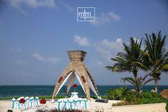 Dreams Riviera Cancun ceremony site. Dreams Riviera Cancun. MTM Photography. Wedding Ideas. Destination Wedding Photography in Riviera Maya. Photography Cancun, Playa del Carmen and Tulum. www.momentsthatmatterphotography.com