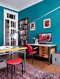 Les couleurs qui favorisent la concentration et la créativité