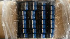 Lot of 224 Empty DELL Series 21 VIRGIN OEM Ink Cartridges Ink Tank