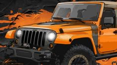 jeep wrangler red accents - Google Search