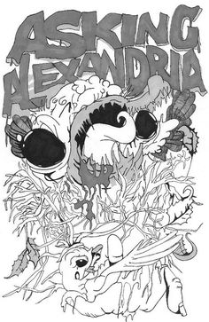 Asking Alexandria is this a shirt this would be an epic.ass shirt