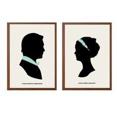 GOSSIP GIRL Charles and Blair Poster : Modern by sealhouette