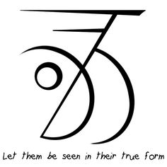 """""""Let them be seen in their true form"""" sigil requested by anonymous Requests closed till Saturday. Wiccan Symbols, Magic Symbols, Spiritual Symbols, Ancient Symbols, Protection Sigils, Sigil Magic, Eclectic Witch, Spiritus, Practical Magic"""