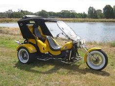 Trike Vw Trike, Trike Motorcycle, Bike, Custom Trikes, Sidecar, Vroom Vroom, Tripod, Wheels, Cars