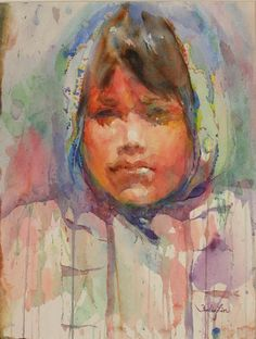 Fealing Lin Watercolors: Life Ahead of Her