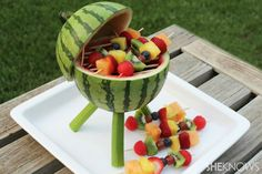 Watermelon Grill by Sandra Denneler