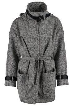 OBJWILLA - Płaszcz wełniany /Płaszcz klasyczny - black