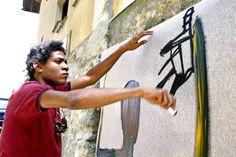Jean Michel Basquiat painting