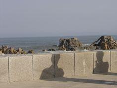 Silhouette - Ocean Park en bord de mer à Qingdao, Chine