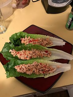 6 Week 20 Pound Challenge Recipe Guide: Chinese Ginger Chicken Lettuce Wraps