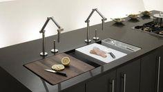 17 Attractive Kitchen Sink Designs That Will Catch Your Eye