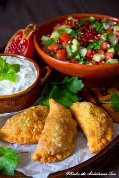 My favourite Middle Eastern treat: sambousek!